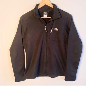 The Northface fleece lined zip-up sweater